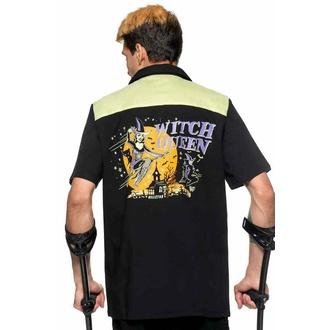 chemise pour homme KILLSTAR - Witch Queen - Bowling - Noir, KILLSTAR