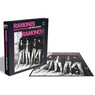 Puzzle RAMONES - ROCKET TO RUSSIA - PLASTIC HEAD, PLASTIC HEAD, Ramones