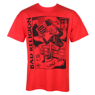 tee-shirt métal pour hommes Bad Religion - Television - KINGS ROAD, KINGS ROAD, Bad Religion