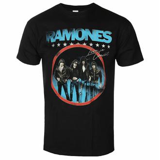 T-shirt pour homme Ramones - Circle Photo - Noir - ROCK OFF, ROCK OFF, Ramones