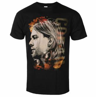T-shirt pour homme NIRVANA - Kurt Cobain - Colored Side View - Noir - ROCK OFF, ROCK OFF, Nirvana