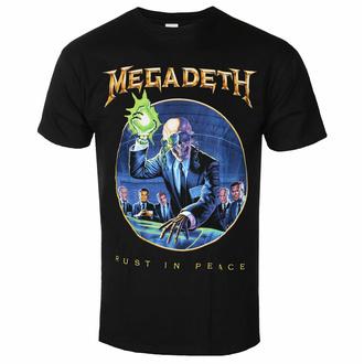 t-shirt pour homme Megadeth - RIP Anniversary BL - ROCK OFF, ROCK OFF, Megadeth