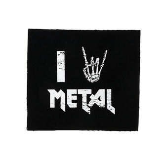 Patch I love metal