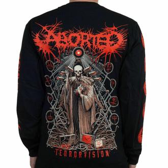 T-shirt à manches longues pour hommes Aborted - Terror vision - Noir - INDIEMERCH, INDIEMERCH, Aborted