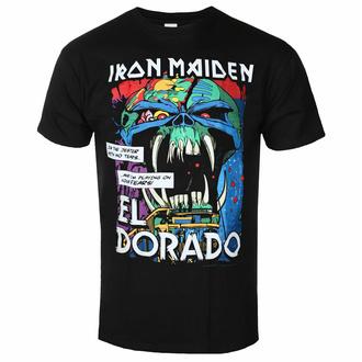 t-shirt pour homme Iron Maiden - El Dorado BL - ROCK OFF, ROCK OFF, Iron Maiden
