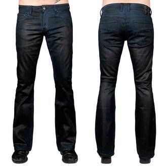 Pantalon (jeans) pour hommes WORNSTAR - Hellraiser Coated - Cobalt Bleu, WORNSTAR