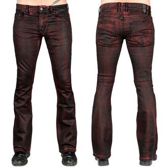 Pantalon (jeans) WORNSTAR pour hommes - Hellraiser Crimson Coated, WORNSTAR