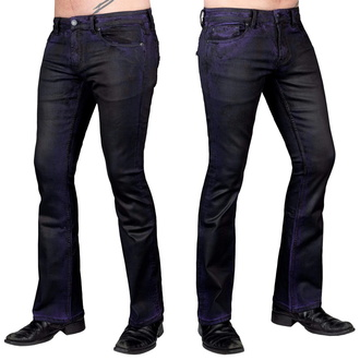 Pantalon (jeans) pour hommes WORNSTAR - Hellraiser Coated - Violet Brume, WORNSTAR