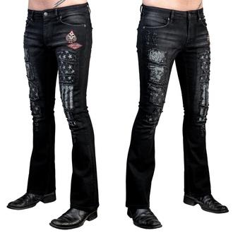 Pantalon hommes (jeans) WORNSTAR - Riven - Noir, WORNSTAR