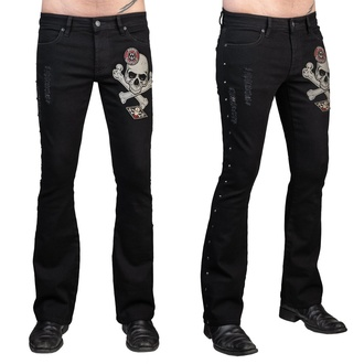 Pantalon hommes (jeans) WORNSTAR - Vanguard - Noir, WORNSTAR