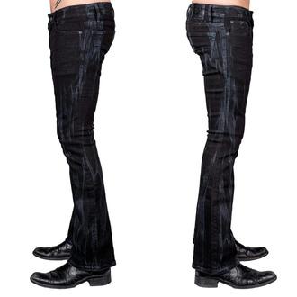 Pantalon pour hommes WORNSTAR - Hellraiser Vapor - Noir, WORNSTAR