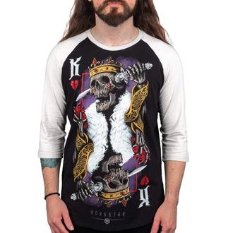 T-shirt pour hommes à manches 3/4 WORNSTAR - Suicide King, WORNSTAR