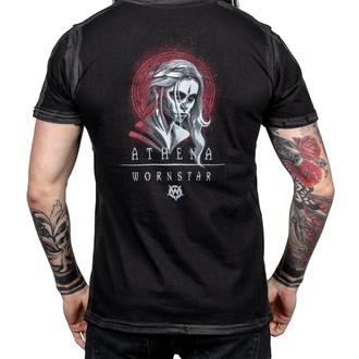 t-shirt hardcore pour hommes - Athena - WORNSTAR, WORNSTAR