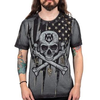 T-shirt pour hommes WORNSTAR - Black Flag, WORNSTAR