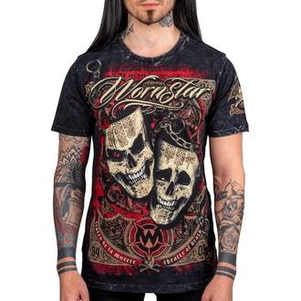 tee-shirt pour hommes WORNSTAR - Muerte - Noire - WSUS-MUE