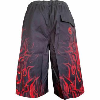shorts pour hommes (maillot de bain) SPIRAL - SKULL BLAST - Noir, SPIRAL
