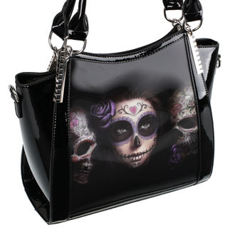 Sac à main (sac) ANNE STOKES - Day Of The Dead - Noir, ANNE STOKES