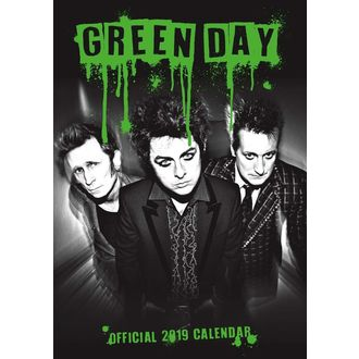 Calendrier 2019 AC / DC - GREEN DAY, Green Day