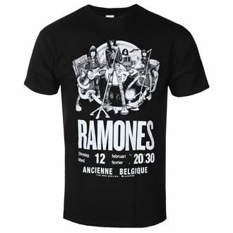 T-shirt Ramones pour hommes - Belgium - ROCK OFF, ROCK OFF, Ramones