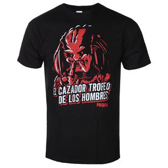 T-shirt pour hommes Predator - De Los Hombres - Noir - HYBRIS, HYBRIS, Predator