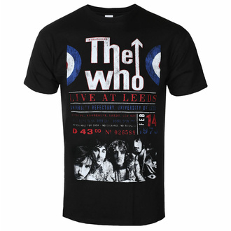 T-shirt The Who pour hommes - Live At Leeds '70 - ROCK OFF, ROCK OFF, Who