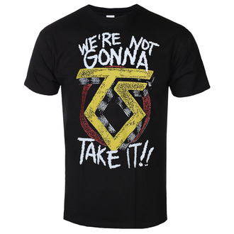 T-shirt pour hommes Twisted Sister - We´re Not Gonna Take It - Noir - HYBRIS, HYBRIS, Twisted Sister