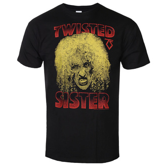 T-shirt pour hommes Twisted Sister - Dee Snider - Noir - HYBRIS, HYBRIS, Twisted Sister