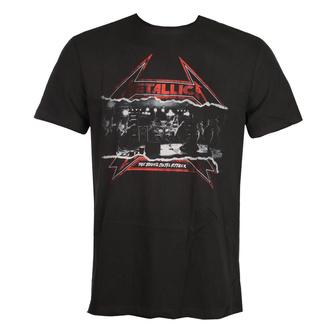 T-shirt pour hommes METALLICA - YOUNG METAL - CHARBON DE BOIS - AMPLIFIED, AMPLIFIED, Metallica
