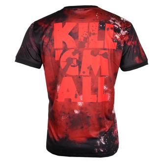 T-shirt (technique) pour hommes METALLICA - KILL EM ALL - NOIR - AMPLIFIED, AMPLIFIED, Metallica