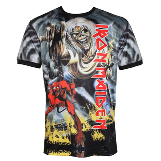 T-shirt (technique) pour hommes IRON MAIDEN - NUMBER OF THE BEAST - NOIR - AMPLIFIED, AMPLIFIED, Iron Maiden