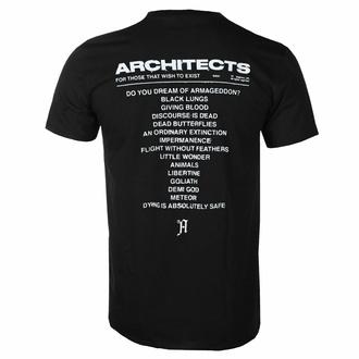 T-shirt pour hommes Architects - FTTWTE Couverture - Noir - KINGS ROAD, KINGS ROAD, Architects