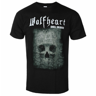 T-shirt pour hommes WOLFHEART - Skull Takldiers - NAPALM RECORDS, NAPALM RECORDS, Wolfheart