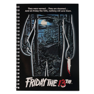 Carnet de notes Vendredi 13 - Movie Poster, NNM, Friday the 13th