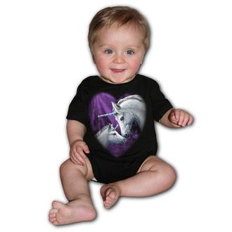 Body pour enfants SPIRAL - SACRED LOVE - Noir, SPIRAL