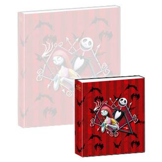 jouant carnet Nightmare Before Noël - Musical Notebook Jack & Sally