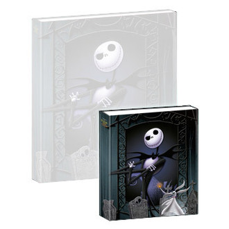jouant carnet Nightmare Before Noël - Musical Mini-ordinateur portable Jack & Zero, NIGHTMARE BEFORE CHRISTMAS