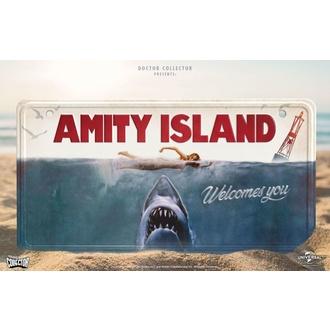 Pancarte Les dents de la mer - Pancarte en Metal affiche du film Jaws, NNM, Les dents de la mer