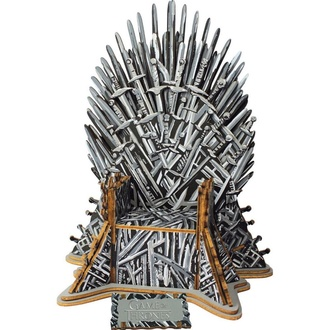 Puzzle Game of Thrones - Construction 3D - Trône de Fer, NNM, Game of Thrones