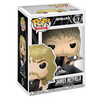 figurine Metallica - James Hetfield - POP!, POP, Metallica