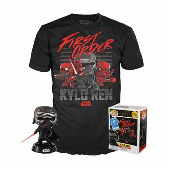Coffret figurine+t-shirt Star Wars - Episode IX - POP! - Kylo Rhine (Supreme Leader), POP, Star Wars