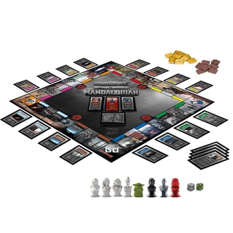 Jeu de société STAR WARS - Monopoly The Mandalorian *English Version*, NNM, Star Wars