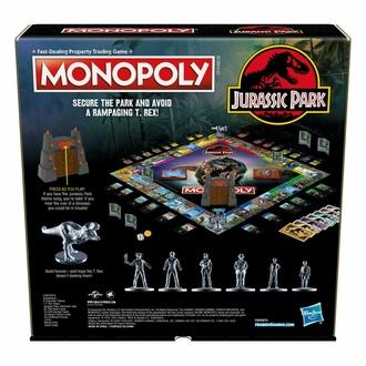 Jeu Jurassic park - Monopoly - Version anglaise, NNM, Jurassic Park