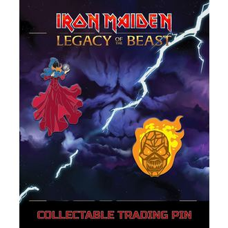 Punaises Iron Maiden - Legacy of the Beast - Voyant & Osier Homme, Iron Maiden