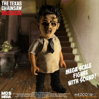 Figurine articulée Massacre à la tronçonneuse - Figurine articulée sonore Leatherface, NNM