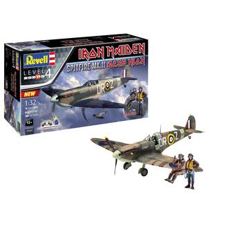Décoration (modèle avion) Iron Maiden - Kit modèle 1/32 Spitfire Mk.II, NNM, Iron Maiden
