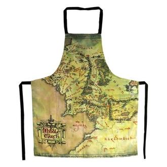 Tablier Lord of the Rings - Carte de la Terre du Milieu, NNM, Pán prstenů