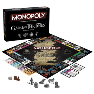 Jeu de société Monopoly - Game of Thrones Edition Collectors - Version anglais, NNM, Game of Thrones