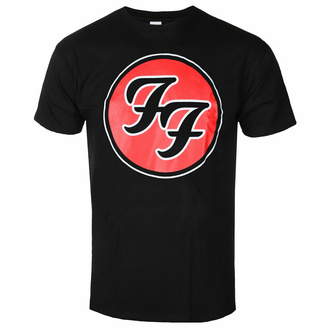 T-shirt pour homme Foo Fighters - FF Logo - ROCK OFF, ROCK OFF, Foo Fighters