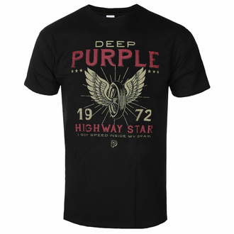 T-shirt pour homme Deep Purple - Highway Star - ROCK OFF, ROCK OFF, Deep Purple