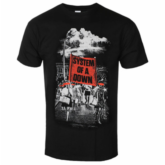 T-shirt pour homme System Of A Down - Banner March - ROCK OFF, ROCK OFF, System of a Down